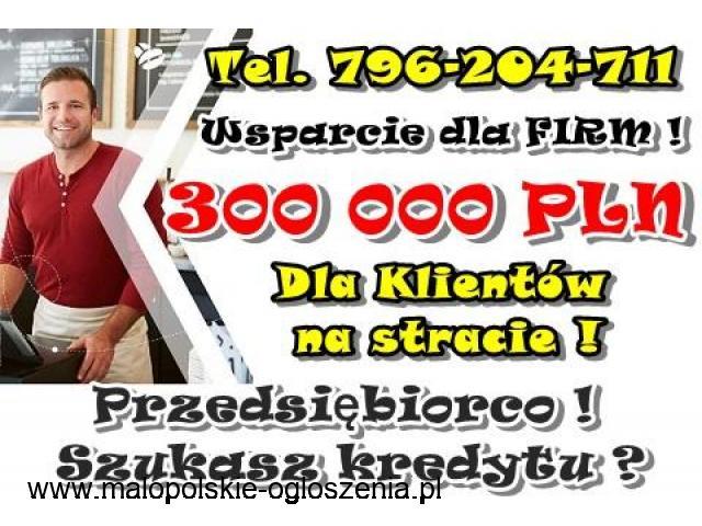WSPARCIE FINANSOWE DLA FIRM 300 000 PLN WARTO PRZECZYTAĆ!