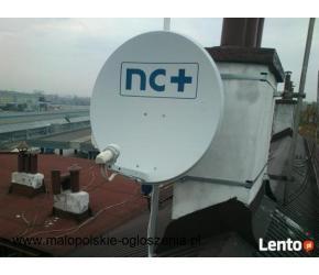 24h MONTAŻ ANTEN SATELITARNYCH serwis naprawa regulacja NC PLUS Polsat