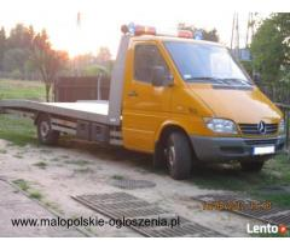 Laweta Chrzanów całodobowa pomoc drogowa transport