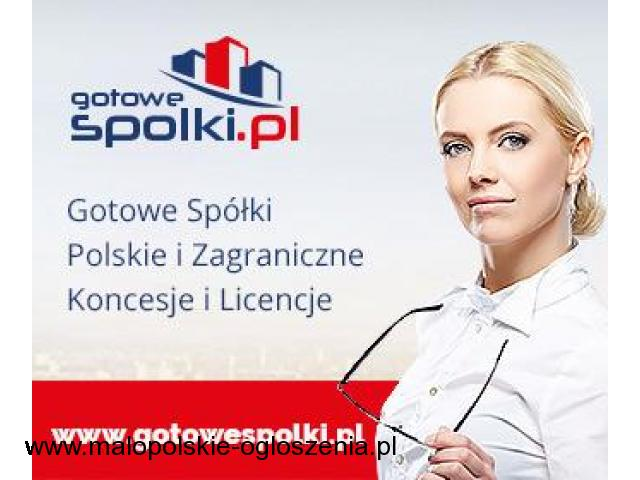 Gotowe Fundacje, Gotowa Spółki Niemieckie, Bułgarskie, Czeskie, Słowackie, KONCESJE OPC 603557777